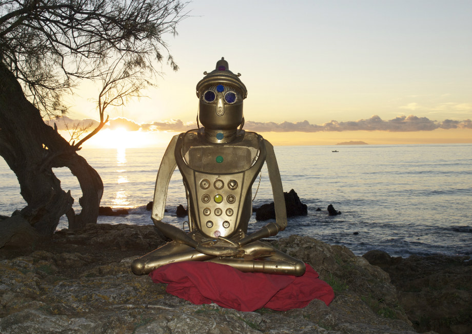 """""""Buddha al sole"""", omaggio di Stefano Pilato - www.artpescefresco.com"""