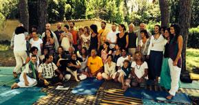 Foto di gruppo Corso Formazione Insegnanti Yoga